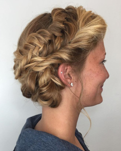 summer beauty trends 2016 - braided updo