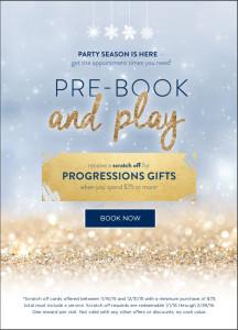 Progressions Salon Spa Store - Happy Holidays
