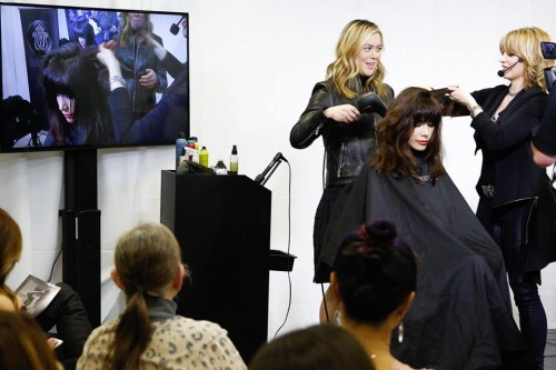 club intrigue: stylist educating stylist - pro-panorama event - washington dc at progressions salon spa store