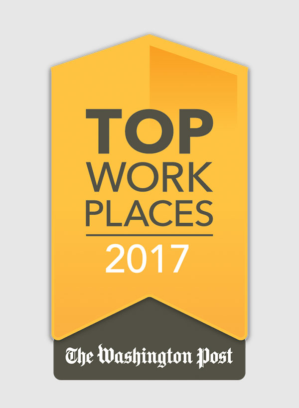 Washington Post – Top Work Places 2017