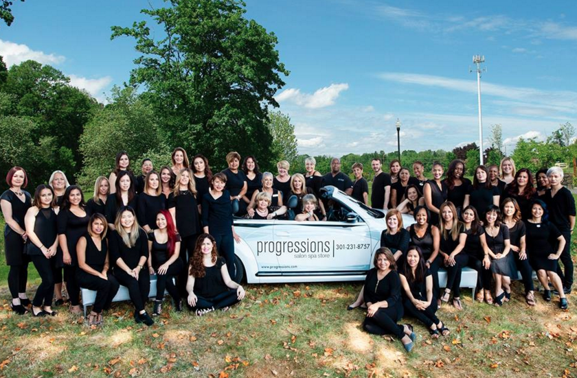 Progressions team photo