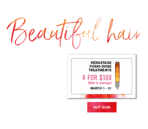Healthy Hair is Beautiful Hair. Kerastase Fusio-Dose Treatments 4 for $109 ($43 Savings)