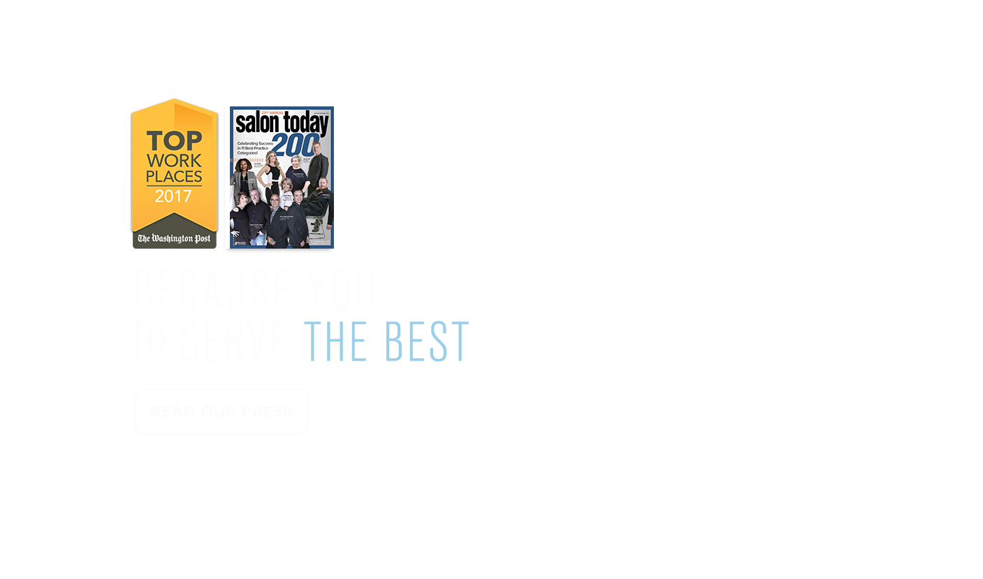Because you deserve the best