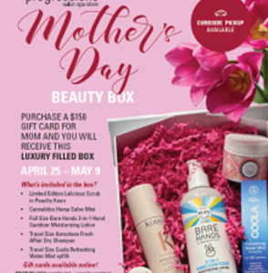 Treat Mom and Yourself this Mother's Day